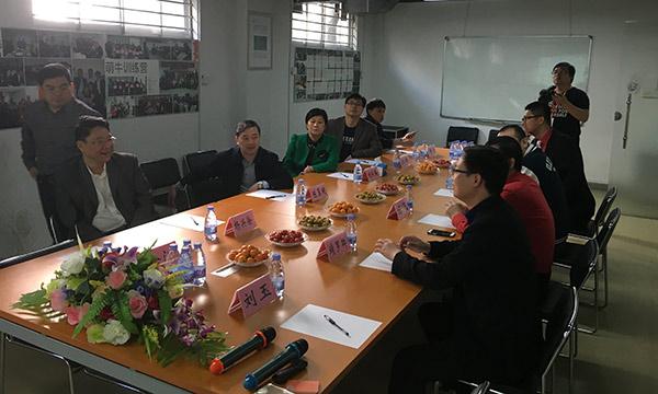 陈翼明副市长一行听取了龙8国际pt老虎的汇报