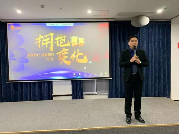 龙8国际pt老虎长沙分公司总经理赵利清