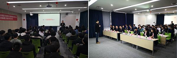 长沙龙8国际pt老虎总经理赵利清为签约仪式致辞
